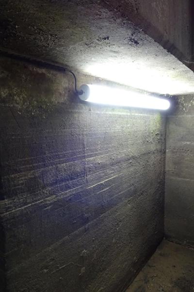 EDF Below Ground Access Tunnel