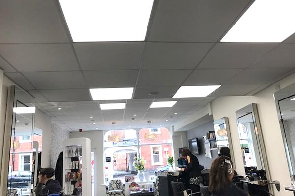 LA Plaza Shop Lighting