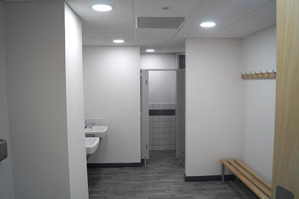 Toilet Facility Lighting